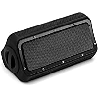 Portable Bluetooth Speaker,Bopie Wireless Waterproof Speaker-with Dual 10W Drivers,IPX5 Water Resistant ,Built in Mic,Enhanced Bass and 12-Hour Playtime,for Beach,Shower,Party,Camping,Hiking,Kitchen