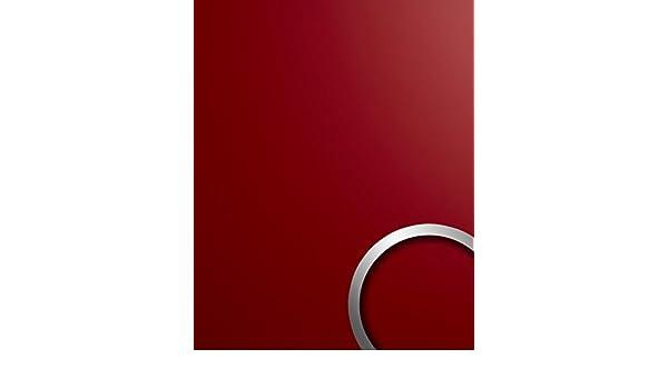 Panel de pared aspecto plástico WallFace 19522 Magic Red liso Panel decorativo unicolor mate autoadhesivo resistente a la abrasión rojo 2,6 m2: Amazon.es: ...