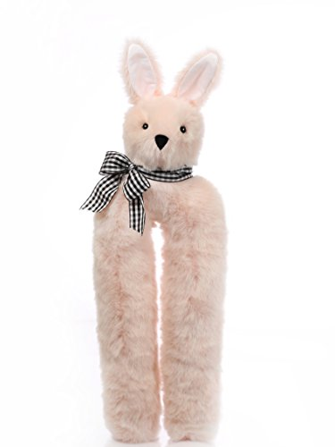 Bootniks - Bunny Boot Trees for Closet Organization - Vermont Teddy Bear Collection (Blush Pink) (Blush Shaper)