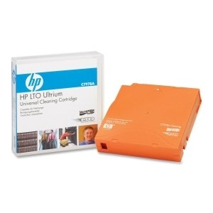 HP LTO Ultrium Universal Cleaning Cartridge - LTO - 1046.59 ft Tape Length - 1 Pack - C7978A by HEWLETT PACKARD - MEDIA 7A