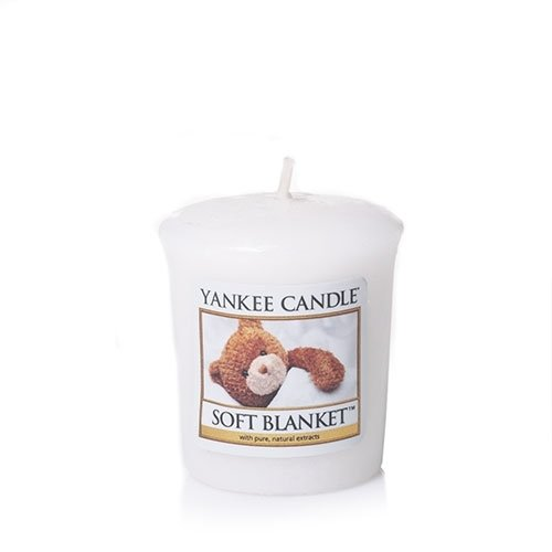 New Yankee Candle Soft Blanket Sampler Votive Candles (Pack of 3)