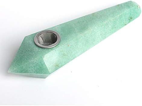 ユニークかつ耐久性のあるグリーン手作りパイプ、アンアートコレクションチューブとして使用することができます