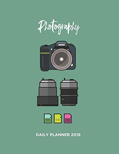 Need a way to plan your day and get things done? Then get this Photographer Appointment and Daily Year Planner: This beautifully designed stylish and practical, Photographer Year Planner is a great way to collect your thoughts and prepar...