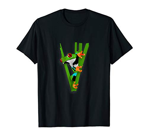 (Cool Amphibian Tees: Red-eyed Tree Frog)