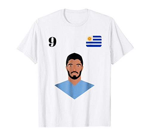 5cd3a9853 Uruguay foot jersey shirt 2018 suarez world soccer men women