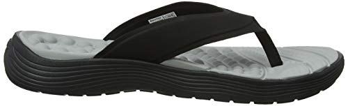 black 060 Reviva black Chanclas Crocs Flip Negro Para Mujer Women z0F6FWq