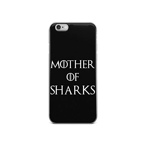 iPhone 6/6s Pure Clear Case Cases Cover Mother of Sharks Song Lyrics Shark Lovers Thrones Game Gift -