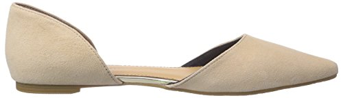 Beige Hilfiger Closed 6b Tommy 288 nude Women's Libby Ballerinas UHSxYq