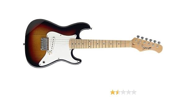 Stagg J200 guitarra eléctrica media de tamaño para los niños ...