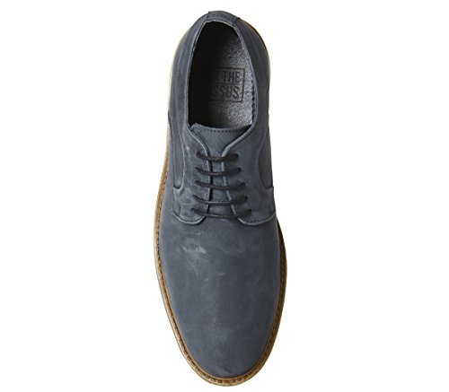 cheap in China Ask The Missus Giant Chunky Derby Shoes Navy Nubuck find great for sale tumblr sale online b4BpA1j9Er