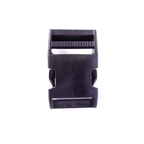 100個セット NIFCO ニフコ SR38 プラスチック バックル 黒 38mm巾用 ベルトの長さ調節などに 100個セット  B07K2TB3H7