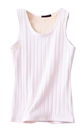M White Cotton Scoop amp;W Top amp;S Vest Neck Women Tank rZrTF