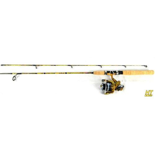 Jimmy Houston FISH HUNTER PRO DX COMBO SERIES 5'6 2 PC LIGHT W/FHPD-104A REEL