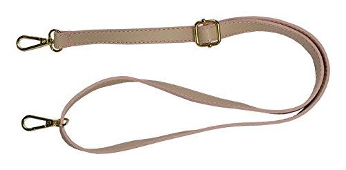 Schöne praktische Leder Rosa Handtasche aus Leder Festa Rosa über die Schulter
