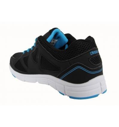 Kappa Zapatillas Deporte de Niño y Niña y Mujer 3026E00 Umberte F97 Black-Blue