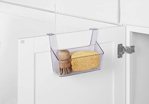 Kitchen Spectrum Diversified Crystal Over-The-Cabinet-Door Durable Organizer, No-Installation Under Sink Storage Basket, Plastic… under-sink organizers