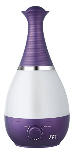 Sunpentown SU-2550P Ultrasonic Humidifier with Fragrance Diffuser- Pink