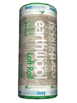 Knauf Loft Insulation 100 Millimetre x 8.3 Square Metre Per Roll Pack of 3 Rolls Covers 24.9 Square Metre Total BPS
