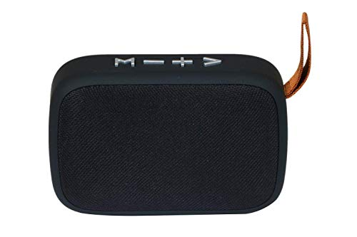 Vomoco KJ-90 Wireless Portable Bluetooth Big Bass High Sound Quality Speaker with in Built Microphone | USB | Aux & SD Card Slot Support Compatible with All Android Devices (Random Color)