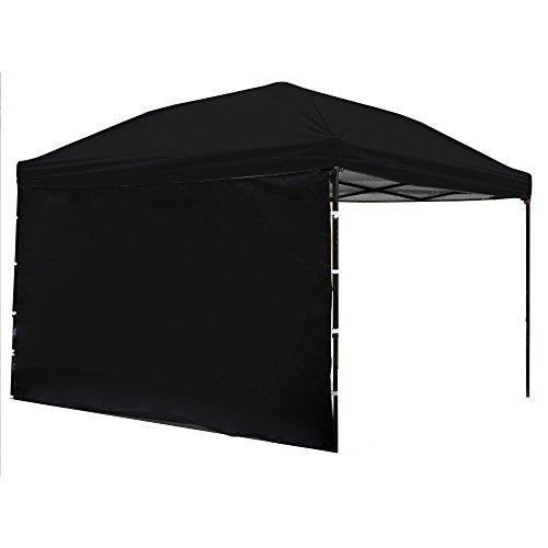 Punchau Pop Up Canopy Tent with Sidewall 10 x 10 Feet - UV C