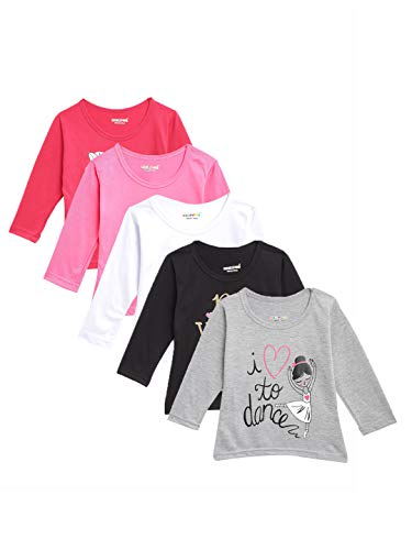 Kuchipoo Girls' Top (Pack of 5)