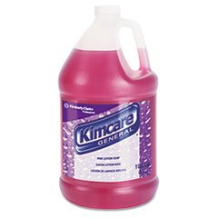 Kimberly-Clark-Professional-General-Pink-Lotion-Soap-Herbal-Liquid-1gal-Bottle-Fourctn