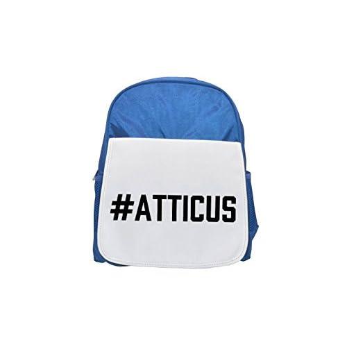 # Atticus Printed Kid 's Blue Backpack, Cute de mochilas, Cute Small de mochilas, Cute Black Backpack, Cool Black Backpack, Fashion de mochilas, large Fashion de mochilas, Black Fashion Backpack