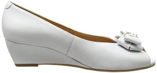 Donne bianco Bianche Hudson Dal Sandali Van Zeppa Delle Con xp14PqwYY