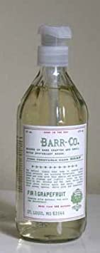Barr-co. Fir Grapefruit Hand Soap