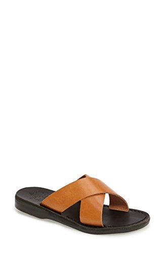即席書き出すぼんやりした[エルサレムサンダル] レディース サンダル Jerusalem Sandals Elan Crisscross Sandal [並行輸入品]