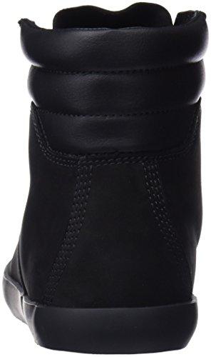 Black Sneaker Timberland Nubuck Noir Femme Dausette Botines Boot aqYFga