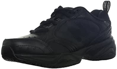 New Balance Women's WX626 Slip Resistant Cross-Training Shoe,Black,10.5 B US
