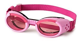 DOGGLES ★ PINK ILS SUNGLASSES ★ UV PROTECTIVE EYEWEAR ★ ALL SIZES (Large) by Doggles