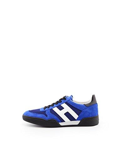 Hogan Sneakers H357 in camoscio con Dettaglio in Tessuto Bajo Costo hFU4pZQ