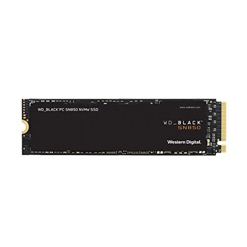 Western Digital 2TB WD_Black SN850 NVMe Internal Gaming SSD - Gen4 PCIe, M.2 2280, Up to 7000 MB/s - WDS500G1X0E