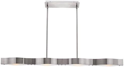 Access Lighting 62316-BS FST 4 Light Titanium SemiFlush Kitchen