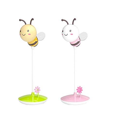 OVIIVO Creative Table Lamp Desk Lamp Bedroom Feeding Night Light Baby Newborn Baby Warm Light Charging Plug-in Children's Room Bedside Mini Cartoon Using for Reading, Working (Size : #2) by OVIIVO (Image #4)