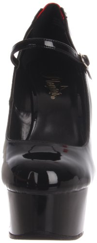 Tacones 687fh Pleaser Mujer Delight Negro UZqw7YOx