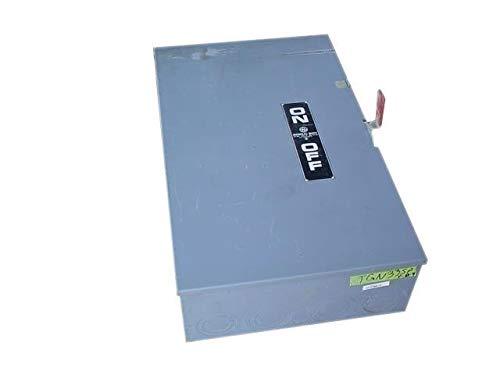 GE THN3365 3 Wire 3 Pole Non-Fusible Heavy-Duty Safety Switch 600 Volt AC 400 Amp NEMA 1 Spec-SetterTM