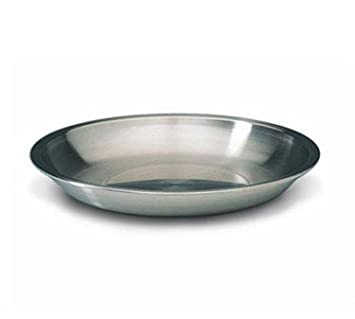 13 3//4-Inch Matfer Bourgeat 713735 Stainless Steel Seafood Tray Gray