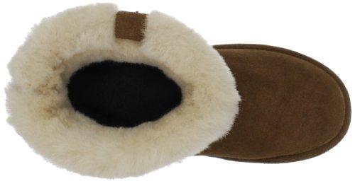 Bearpaw Abby, Botas de Nieve para Mujer Marrón