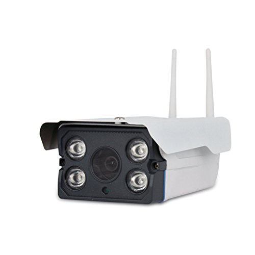 Telecomando & Acquisizione Immagine Cámara Ocultada Ip , 720P Hd 1 Milione Di Pixel Sistema De Cámara De Seguridad En Casa Ip Hd Telecamera Di Sorveglianza Ip White