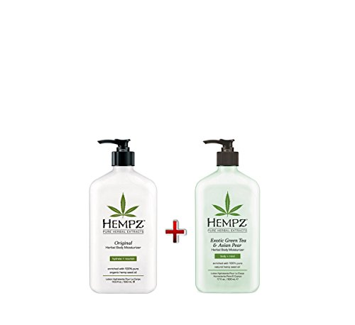 Hempz Green Moisturizer Herbal Original