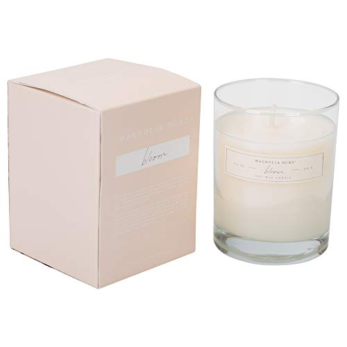 Bloom Scented 9.2 ounce Soy Wax Boxed Glass Candle by Joanna Gaines - Illume