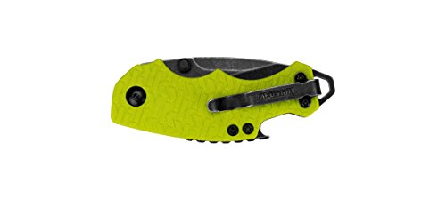 Kershaw-8700LIMEBW-Shuffle-Folding-Knife-with-BlackWash-Finish-Lime