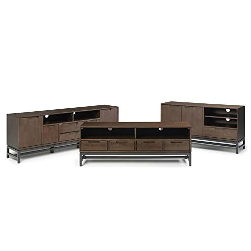 Living Room SIMPLi HOME LIFE BY DESIGN Banting Mid Century 72 inch Wide TV Stand modern tv stands
