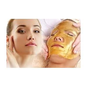 5 x De oro bio- colágeno máscara facial máscara de cristal de oro en polvo de colágeno máscara facial hidratante anti- edad Boolavard® TM