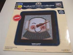 DMC Needlepoint Canvas Collection - Snow Happy 8