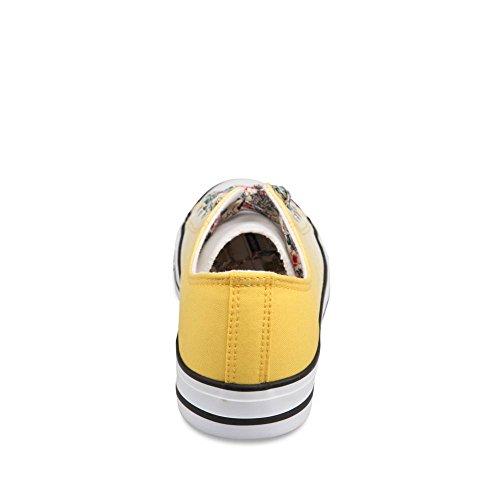 MERRY SCOTT ,  Sneaker donna giallo giallo