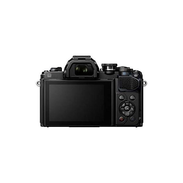 RetinaPix Olympus OM-D E-M10 Mark III Mirrorless Micro Four Thirds Digital Camera with 14-42mm EZ Lens & 16GB SDHC Card (Black) (Black)